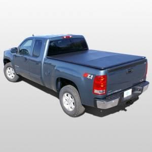 Downey - Downey SST 206131 | 8' Long Bed Slant Side Tonneau Bed Cover For Chevrolet Silverado / GMC Sierra 07-13
