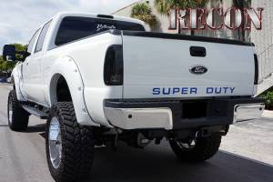 "RECON - RECON 264181BL | ""SUPERDUTY"" Raised Letter Inserts - BLUE For Ford Superduty 08-14"