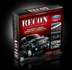 "RECON - RECON 264181WH | ""SUPERDUTY"" Raised Letter Inserts - WHITE For Ford Superduty 08-15"
