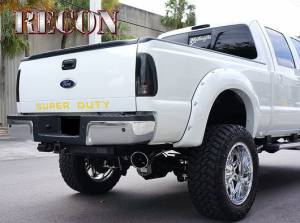 "RECON - RECON 264181YL | ""SUPERDUTY"" Raised Letter Inserts - YELLOW For Ford Superduty 08-15"