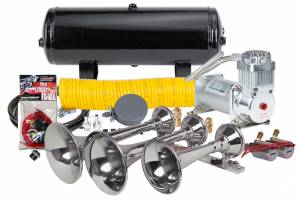 Kleinn - Kleinn HK8 |  Pro Blaster's Triple Train Horn Kit, 150 PSI 100% Duty Air System