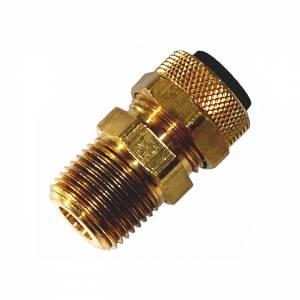"Kleinn - Kleinn 51238 |  3/8"" M NPT Compression Fitting for 1/2"" O.D. Tube"