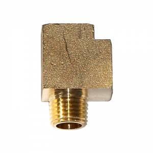 """Kleinn - Kleinn 54440    """"T"""" manifold - 1/4"""" FPT x 1/4"""" FPT x 1/4"""" MPT"""