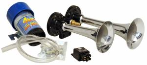 Kleinn - Kleinn 6126 |  Direct drive dual air horn kit.  Includes compressor, relay and tubing