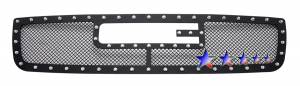 Outlaw Lights - 2003 - 2006 GMC Sierra Outlaw Black Mesh Rivet Grille
