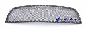 Outlaw Lights - 2009-2013 Dodge Ram 1500 Outlaw Black Mesh Grille with Rivets