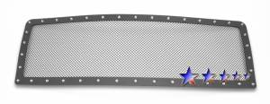 Outlaw Lights - 2009-2014 Outlaw Black Mesh Grille with Rivets | Will not fit F-150 Raptor