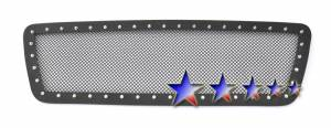 Outlaw Lights - 2004 - 2008 Ford F150 Outlaw Black Mesh Rivet Grille