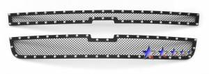 Outlaw Lights - 2006-2007 Chevrolet Silverado Classic Outlaw Black Mesh Grille with Rivets
