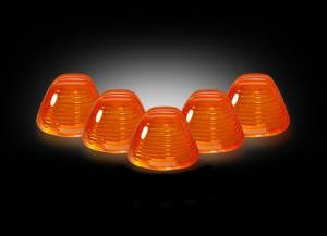 RECON - RECON # 264142am Amber Cab Lights for Ford 99-15 264142am