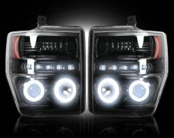 2008-2010 Ford Powerstroke 6.4L Parts - Lighting | 2008-2010 Ford Powerstroke 6.4L - Headlights | 2008-2010 Ford Powerstroke 6.4L