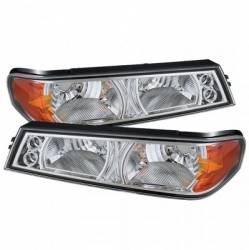 Lighting - Headlight Housings - Bumper Lights