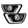 Fog Lights - Fog Light Kits - Spyder - Spyder Clear OEM Fog Lights w/Switch | 2015-2017 2.8L Chevy Colorado Duramax LWN