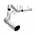"Full Exhaust Systems - DPF Back Exhaust Systems - MagnaFlow - MagnaFlow Pro Series 4"" Aluminized DPF Back 