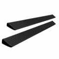 Step Bars & Nerf Bars - Power Steps - AMP Research - Amp Research PowerStep XL™ Black Running Boards | 1999-2001/2004-2007 Ford Super Duty Super Crew