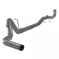 "Full Exhaust Systems - Downpipe Back Exhaust Systems - Flo~Pro - Flo~Pro Stainless 4"" Downpipe Back Single Exhaust w/No Muffler 