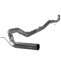 "Full Exhaust Systems - Downpipe Back Exhaust Systems - Flo~Pro - Flo~Pro 4"" Downpipe Back Single Exhaust w/No Muffler 