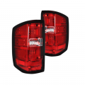 RECON - RECON Red LED Tail Lights | 2014-2017 Chevy Silverado Single-Wheel/Dually & 2015-2017 GMC Sierra Dually