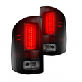 GMC Sierra 2500/3500 - GMC Sierra 2500/3500 Lighting Products - RECON - RECON Smoke LED Tail Lights | 264239BK | 2014+ GMC Sierra