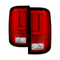 Spyder - Spyder® Red Clear LED Tail Lights | 2016-2017 GMC Sierra w/Factory LED Tail Lights