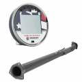 "Patriot Diagnostics - Patriot nGauge DPF/EGR Upgrade Tuner & 4"" CAT/DPF Race Pipe 