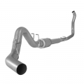"Flo~Pro - Flo~Pro 4"" Turbo Back Single Exhaust System with Muffler 