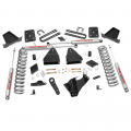 Rough Country - Rough Country 4.5in Suspension Lift Kit for 2015-2016 Ford Powerstroke F-250 4WD