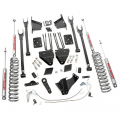 Diesel Truck Parts - Rough Country - Rough Country 6in Radius Arms Suspension Lift Kit for 2015-2016 Ford Powerstroke F-250 4WD