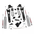 Diesel Truck Parts - Rough Country - Rough Country 6in Radius Arms Suspension Lift Kit for 2011-2014 Ford Powerstroke F250 4WD