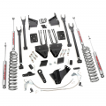 Diesel Truck Parts - Rough Country - Rough Country 6in 4-Link Suspension Lift Kit for 2011-2014 Ford Powerstroke F250 4WD