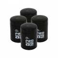 aFe Power - aFe Power Pro GUARD D2 Oil Filter for 2001-2017 Duramax (4-Pack) | 44-LF001