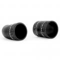 Mishimoto Wrinkled Black Hot Side Intercooler Pipe Kit | 2011-2014 3.5L Ford F-150 EcoBoost | Dale's Super Store