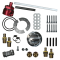 "Lift Pumps & Fuel Systems - Fuel Sumps - FASS Diesel Fuel Systems® - FASS® Diesel ""No Drop"" Fuel Sump w/FASS Bulkhead Suction Tube Kit 