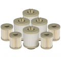 Shop By Vehicle - Lift Pumps & Fuel Systems - aFe Power - aFe Power Pro Guard D2 Fuel Filter (4 Pack) | 44-FF006-MB