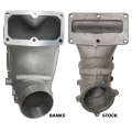 "Banks Power 4"" Monster-Ram Intake Elbow w/Fuel Line & Hump Hose 