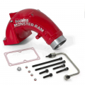 "Banks Power - Banks Power 3.5"" Monster-Ram Intake Elbow w/Fuel Line & Hump Hose 