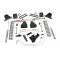 Suspension & Steering - Suspension Lift Kits - Rough Country - Rough Country 4.5in Suspension Lift Kit | 2008-2010 Ford Super Duty F-250/F-350 4WD