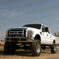 Rough Country 6in 4-Link Suspension Lift Kit | 2008-2010 6.7L Ford Powerstroke F-250/F-350 4WD | Dale's Super Store