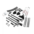 Shop By Vehicle - Suspension & Steering - Rough Country - Rough Country 6in 4-Link Suspension Lift Kit | 2008-2010 Ford Super Duty F-250/F-350 4WD (Gas Models)