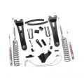 Shop By Vehicle - Suspension & Steering - Rough Country - Rough Country 6in Suspension Lift Kit w/Radius Arms | 2008-2010 Ford F-250/F-350 4WD (Gas Models)
