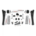 Diesel Truck Parts - Rough Country - Rough Country 5in Suspension Lift Kit | Coil Springs | Radius Arms | 2014-2017 RAM Cummins 2500 4WD