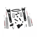 Diesel Truck Parts - Rough Country - Rough Country 6in Suspension Lift Kit w/Radius Arms | 2005-2007 6.0L Ford Powerstroke F-250/F-350 4WD