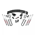 Rough Country 4in Suspension Lift Kit   1987-1997 Ford F-250 4WD