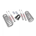 Suspension & Steering - Suspension Lift Kits - Rough Country - Rough Country 3in Suspension Lift Kit | 2003-2013 Dodge Cummins 2500 4WD