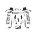 Suspension & Steering | 2010-2012 Dodge/RAM Cummins 6.7L - Suspension Lift Kits | 2010-2012 Dodge/RAM Cummins 6.7L - Rough Country - Rough Country 5in Suspension Lift Kit | 2011-2013 Dodge Cummins 2500/3500 4WD