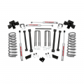 Suspension & Steering - Suspension Lift Kits - Rough Country - Rough Country 3in Suspension Lift Kit | 1994-2002 Dodge RAM 2500 4WD