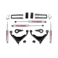 Suspension & Steering - Suspension Lift Kits - Rough Country - Rough Country 3in Bolt-On Suspension Lift Kit | 2001-2010 GM 2500 4WD
