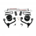Ford F150 (Non-Turbo) - 2004-2008 Ford F150 - Rough Country - Rough Country 3in Bolt-On Arm Lift Kit | 2014-2018 Ford F-150 4WD