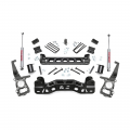 Ford F150 (Non-Turbo) - 2004-2008 Ford F150 - Rough Country - Rough Country 4in Suspension Lift Kit | 2009-2014 Ford F-150 2WD