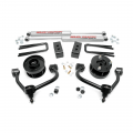 Suspension & Steering - Suspension Lift Kits - Rough Country - Rough Country 3in Bolt-On Arm Lift Kit | 2009-2013 Ford F-150 4WD